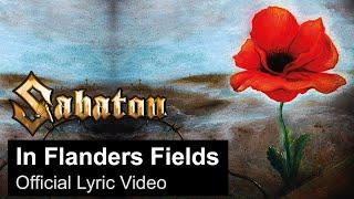 SABATON - In Flanders Fields ( Lyric)