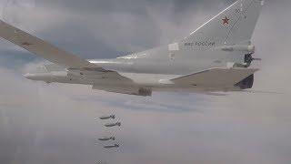Бомбардировщики Ту-22М3 ВКС России нанесли удары по объектам ИГ близ сирийского Абу-Камаля