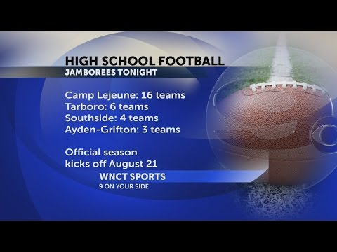 Tarboro High School jamboree football preperations