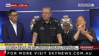 Victoria Police on the Bourke Street incident We are treating this as a terrorism incident  He is kn