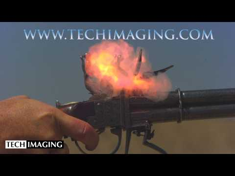 High Speed Camera Video - Flintlock Strike
