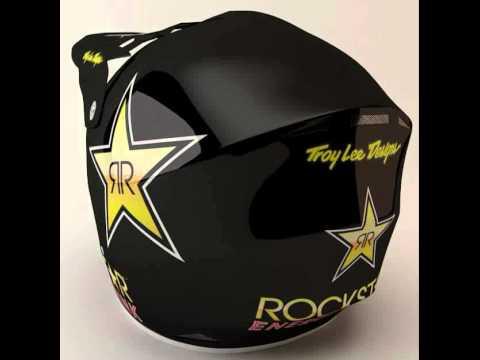TLD RockStar Helmet and Goggles 3D model from CGTrader.com