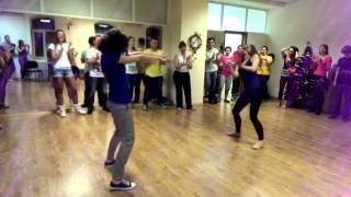 Открытый урок | HDF Studio.| Танцевальный джем | Reggaeton Ксения и Аня