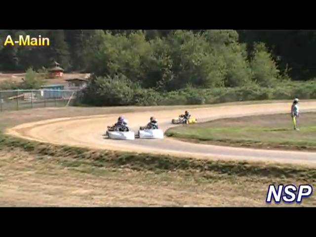 8-22-09 CKA JRI Heat Race & A-Main ORV Park Travel Video