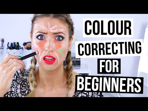 beginner's guide to makeup  color correcting  youtube