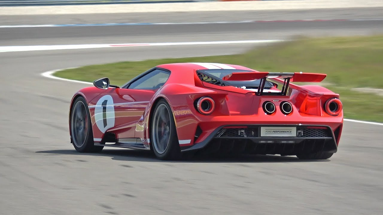 Ford Gt Heritage Edition With Akrapovic Exhaust System