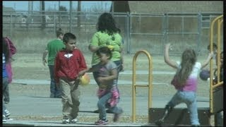 Overcrowding causes separation at recess