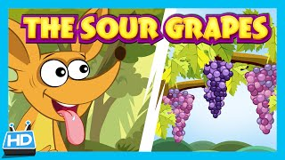 THE FOX and THE SOUR GRAPES | Short Story