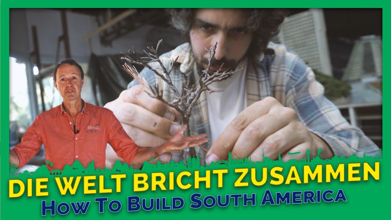 How to build South America? #4 - Dokumentation Miniatur Wunderland