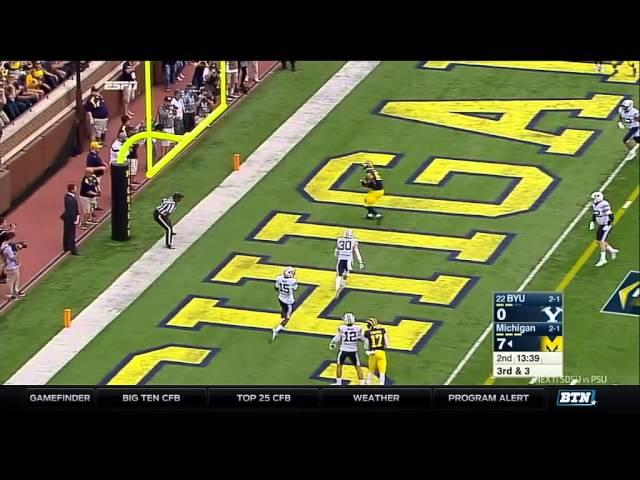 BYU at Michigan – Football Highlights