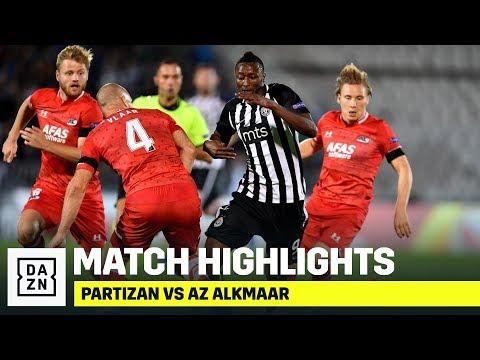 HIGHLIGHTS   Partizan vs. AZ Alkmaar