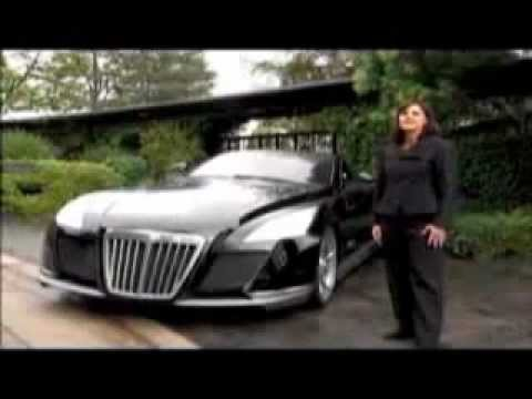 the most expensive car in the world maybach exelero