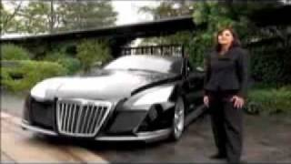 The most expensive car in the world!! Maybach Exelero