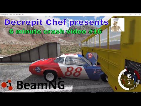 6 minute crash video