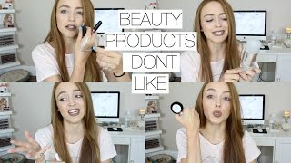 More Disappointing Beauty Products!