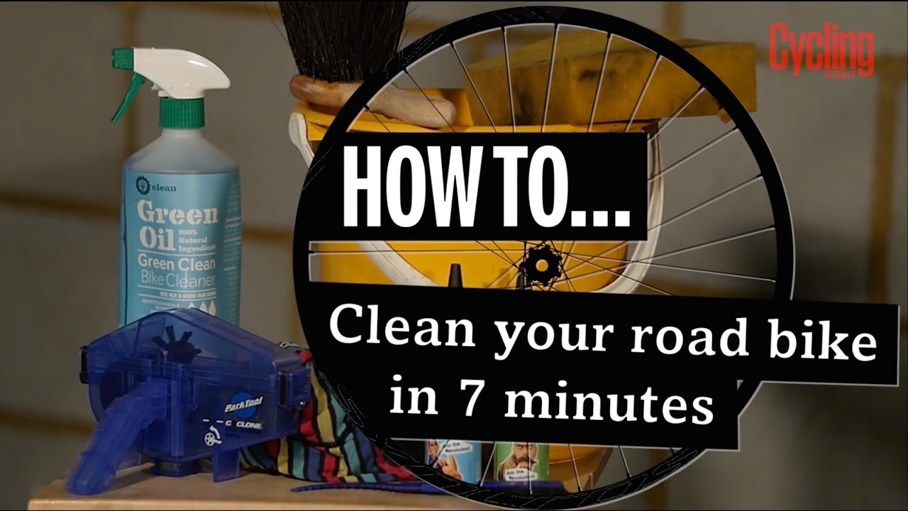 How to clean your bike in seven minutes - Cycling Weekly