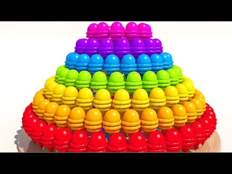 Thumbnail: Learning Colors with 3D Ice Cream pyramid for Kids and Children