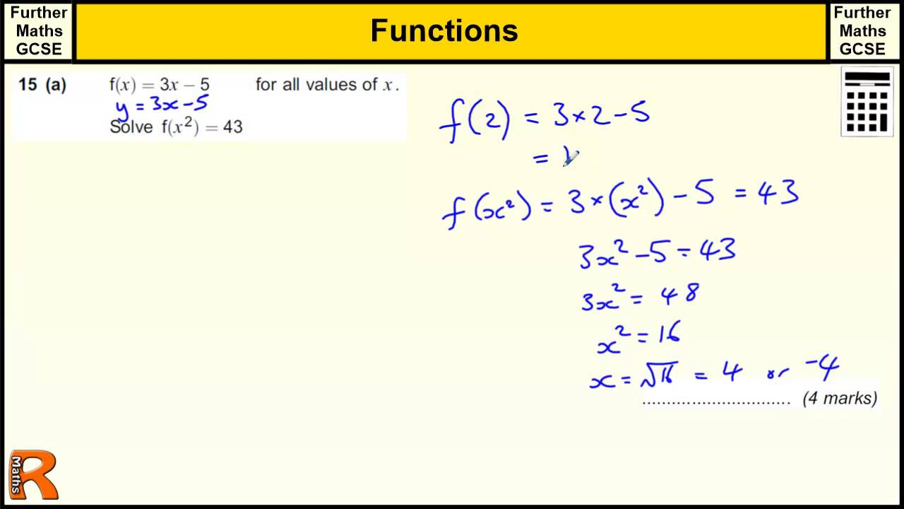 maths functions questions and answers pdf