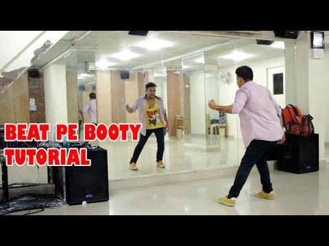 How To Do The Beat Pe Booty Original Steps | Dance Tutorial | Tiger Shroff Steps