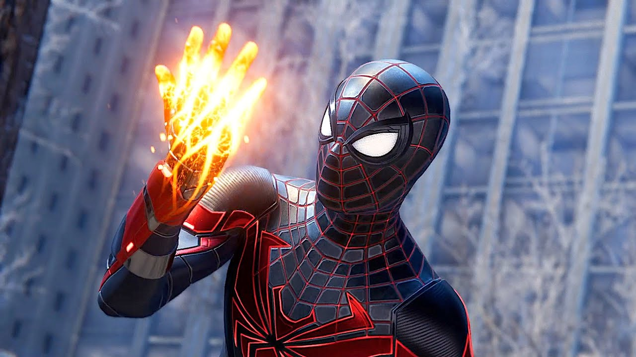 Spider Man Discovers New Powers In NEW Advance Tech Suit - Spider Man Miles Morales Ps5