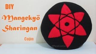 DIY- Cojin Sharingan- FACIL