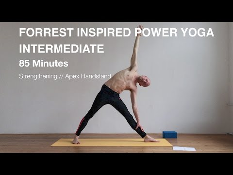 FORREST INSPIRED POWER YOGA // 85 MINUTES // INTERMEDIATE