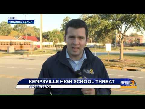 Threatening message found at Kempsville High School
