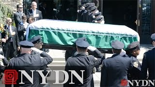 Funeral Service For Slain NYPD Officer Brian Moore