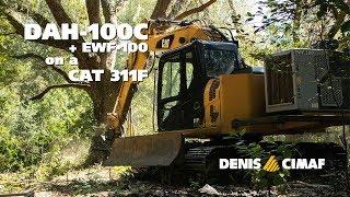 DAH-100C - EWF-100 - CAT 311F - A land management specialist - DENISCIMAF.com