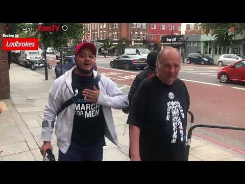 March To Arsenal Ft Troopz, Kelechi & Claude | Robbie's March!!! | Vlog 3