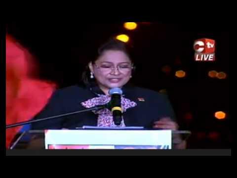 PM Kamla speech at the Golconda Interchange Opening