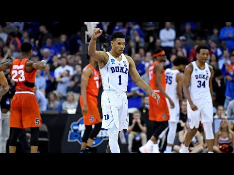 NCAA Tournament 2018 scores: Duke holds off Syracuse in Sweet 16