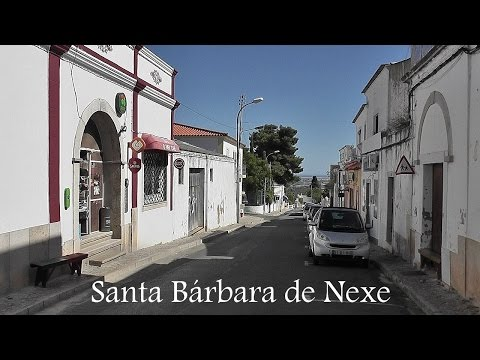 ALGARVE: Santa Bárbara de Nexe, village (Portugal) HD