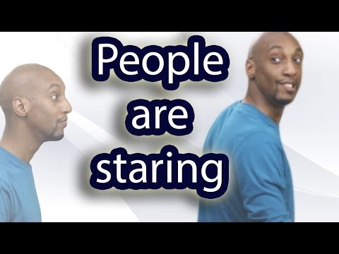 What to do When People Stare at You