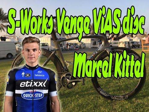 Marcel Kittel S-Works Venge ViAS disc / Dubai Tour 2017 - YouTube