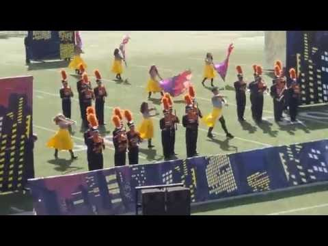 Frank Dobie High School OCT-29-2016 UIL AREA marching contest