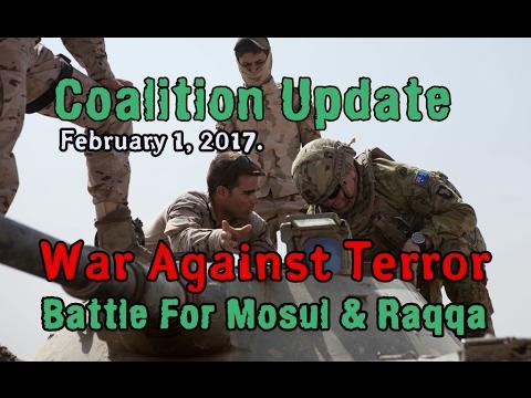 NATO w/CC: MOSUL/RAQQA: 2-1-17. CJTF Update and Press Q & A from Baghdad.