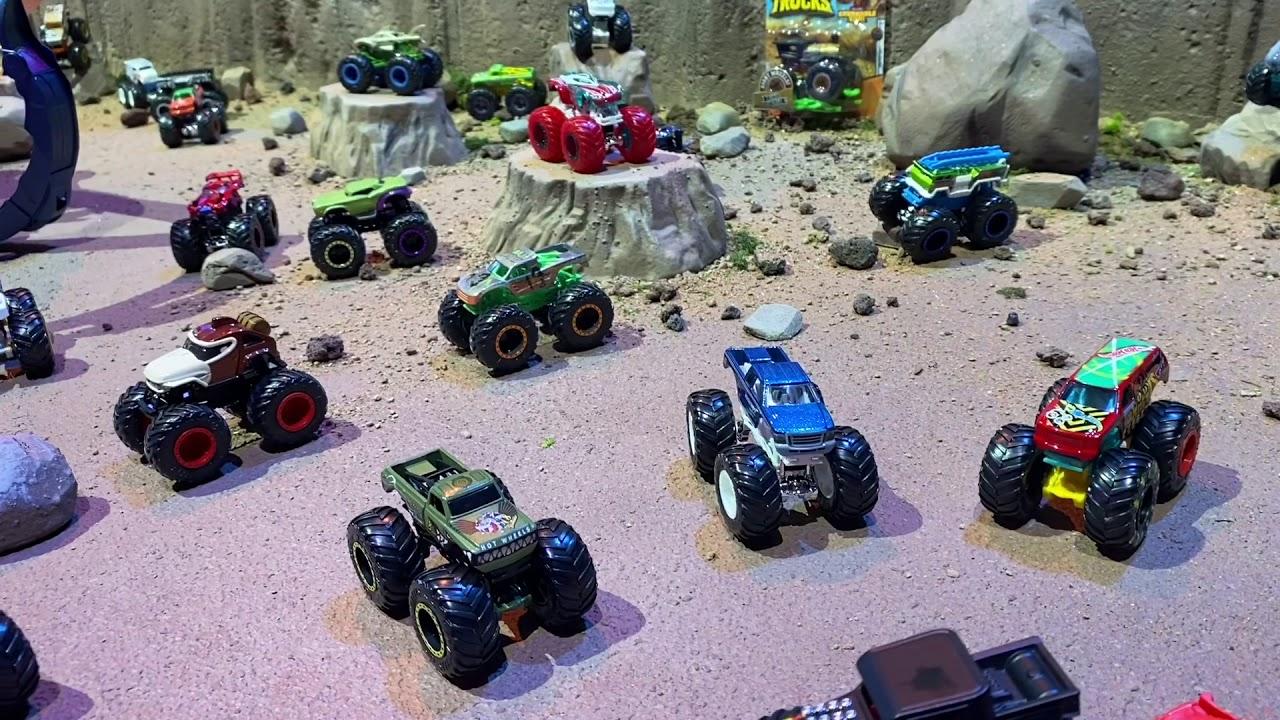 Mattel Hot Wheels Monster Trucks New York Toy Fair 2020 Youtube