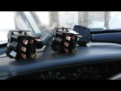 Подрулевые переключатели от Шевроле-Нивы НА ВАЗ 2110 2112 (установка, отзыв)