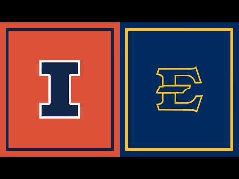 First Half Highlights: East Tennessee State at Illinois   Big Ten Basketball