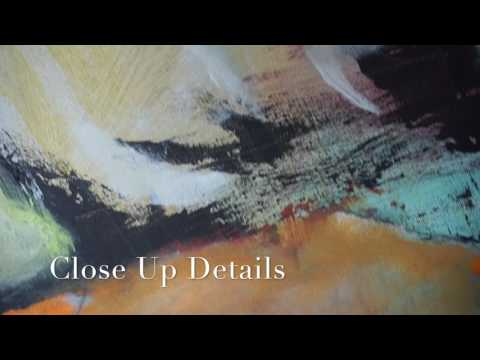 Abstract painting Experience- WrightArtTwins