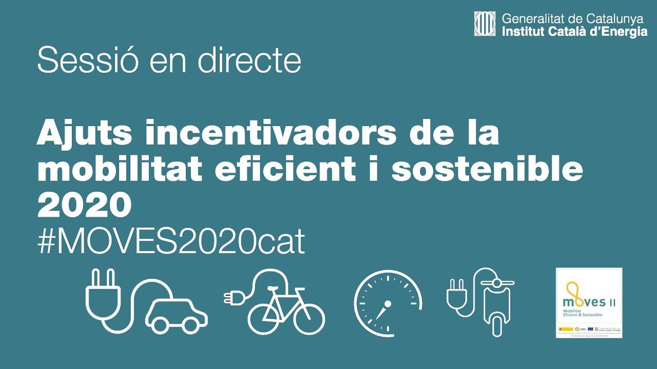 Ajuts incentivadors de la mobilitat eficient i sostenible  - #MOVES2020cat