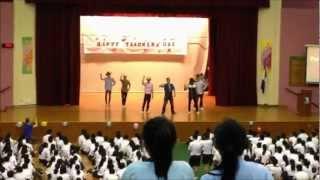Yusof Ishak Secondary School Teachers' Day Celebration 2012