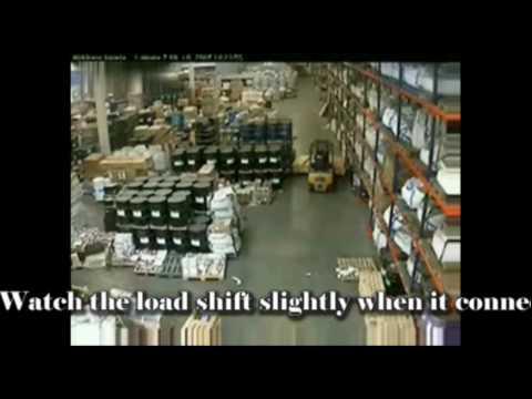 Warehouse Pallet Rack Safety - Column Protectors