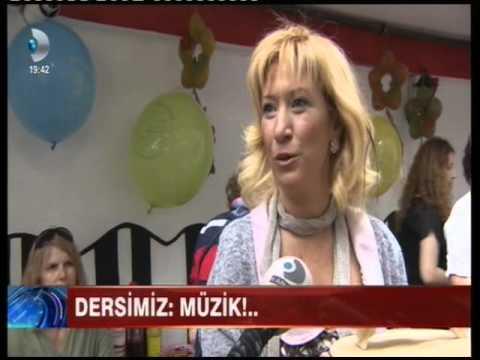 ETİLER MÜZİK OKULU Kanal D Ana Haber 28 06 2015 Ahu Kahraman Yıldırım