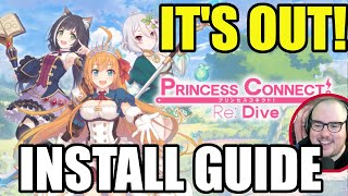 Princess Connect! SOFT GLOBAL LAUNCH! START PLAYING NOW! screenshot 1