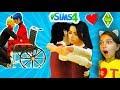 ЛЕДИ БАГ АВАРИЯ ПЕРВЫЕ СЛЕЗЫ МАМА в #симс4 СУПЕР КОТ МАЛЫШ Камиль и Аминка СИМС 4 SIMS 4 Валеришка