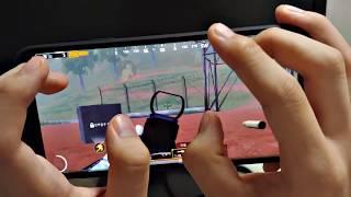 모바일 배그 S9+ 6핑거 손캠