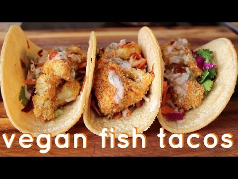 Vegan Fish Tacos // Recipe Test
