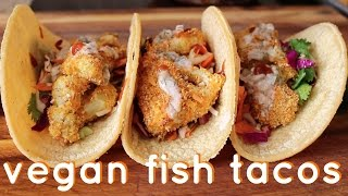 Vegan Fish Tacos  Recipe Test